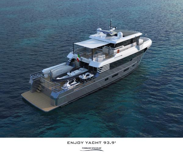 Italian Vessels Enjoy Yacht 93,9""