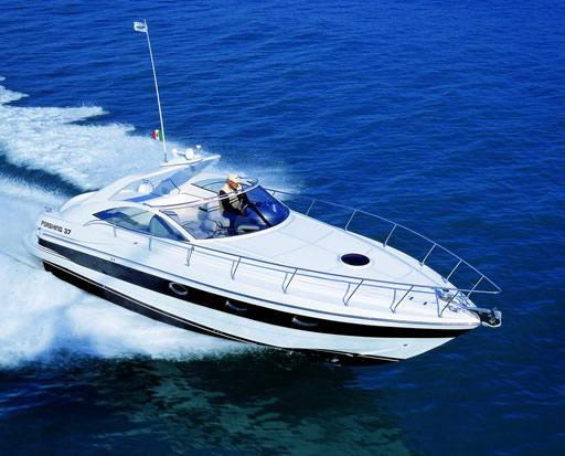 Pershing 37 Cabin Manufacturer Provided Image: Pershing 37 Cabin