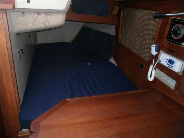 Quarter Berth and nav table