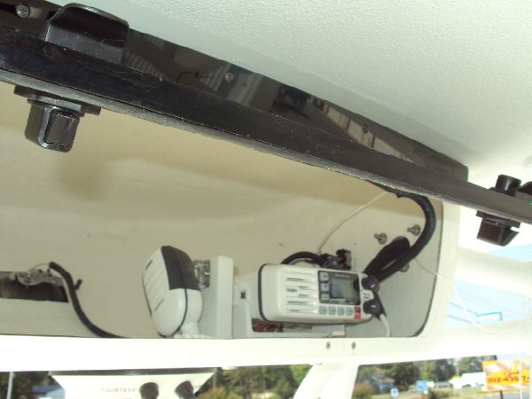 Add a custom installed VHF for $575.00