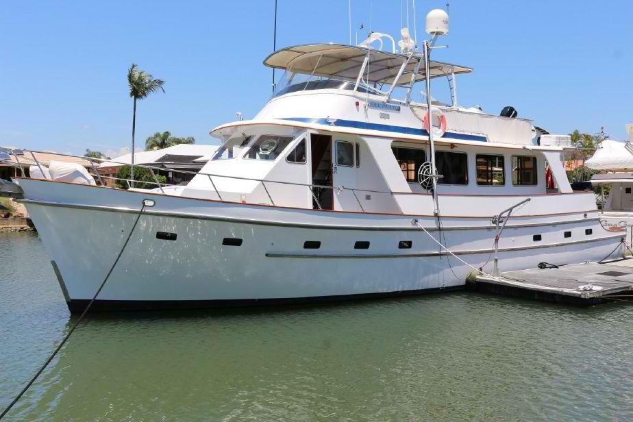 Cheoy Lee 61 Long Range Motor Yacht