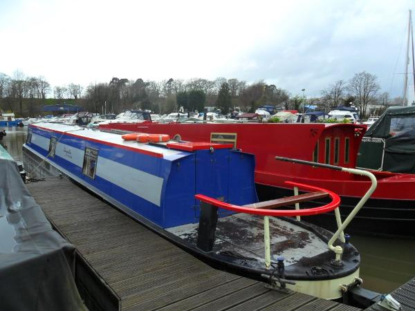 Narrowboat 59' Cruiser Stern 2006