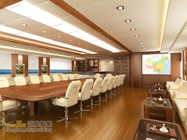 45m yacht meeting hall