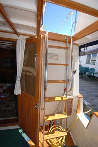 Ladder to Pilothouse