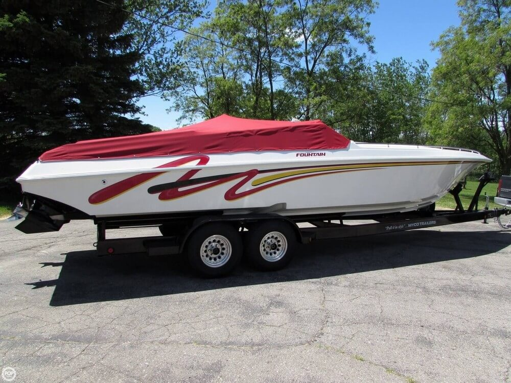 Fountain 32 Fever 2000 Fountain 32 for sale in Plymouth, MI