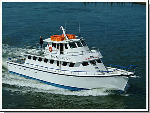 Performance Charter Party Passenger Fishing Boat