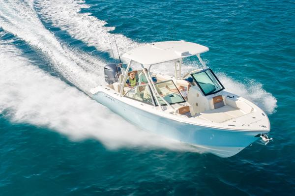 Cobia 240 Dual Console - In Stock 240 dc