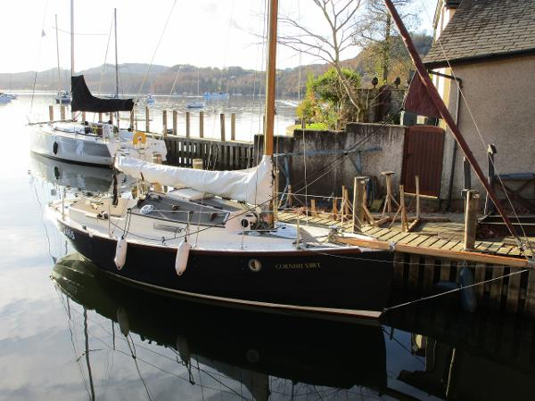 Cornish Crabbers Cornish Yawl Idle Hour - Starboard bow