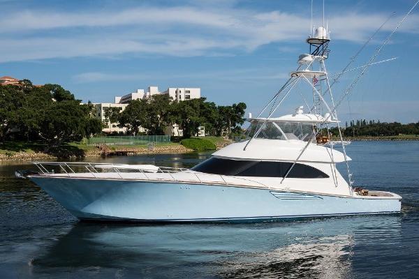 Viking 70 Convertible with Seakeeper 2016 70 Viking