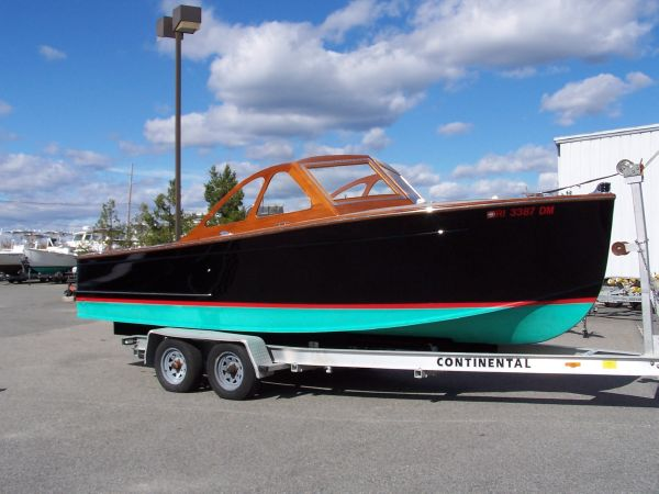 Prowler 22 Starboard hull profile