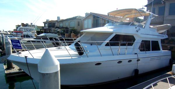 Navigator 4800 Motoryacht 48' Navigator Pilothouse 2007
