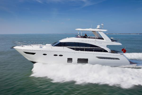 Princess Flybridge 68 Motor Yacht Princess Flybridge 68 Motor Yacht Side Profile