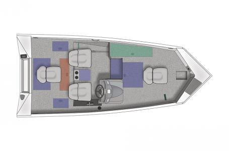 Crestliner VT 17 DX-Mercury 60hp