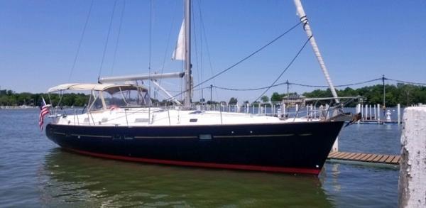 Beneteau Oceanis 411 Starboard Profile