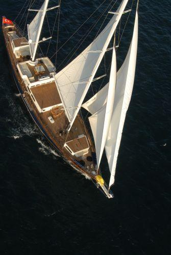 Custom 45m Custom Motor Sailer On the water