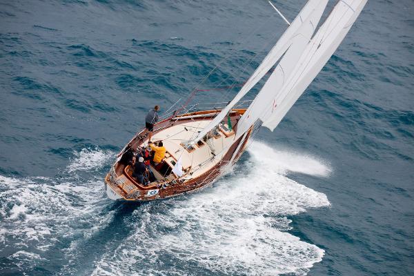 """ORYX"" Labbé Shipyard Bermuda Cutter"