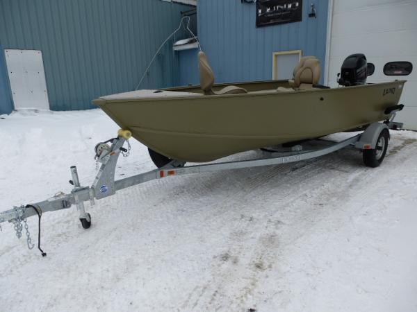 Lund 1600 Alaskan Tiller