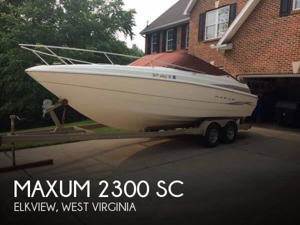 Maxum 2300 SC 2000 Maxum 2300 SC for sale in Elkview, WV