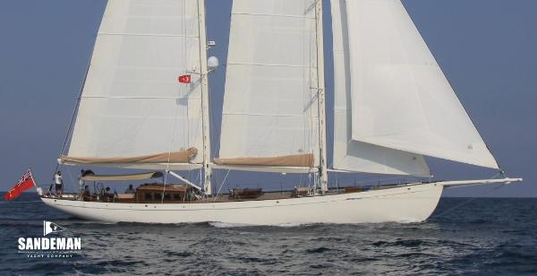 Custom Ed Burnett Bermudan Schooner