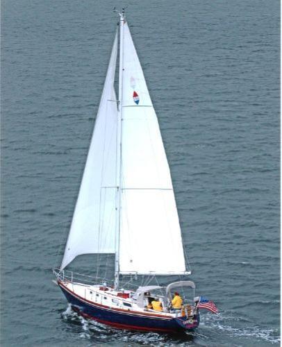 Bristol 38.8 Under Sail