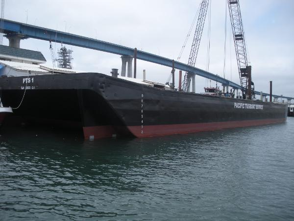160' Steel Barge  Certified ABS