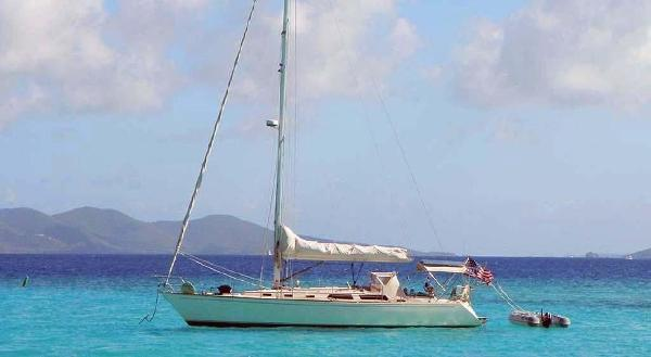 Sabre 42 Centerboard Caribbean Cruising