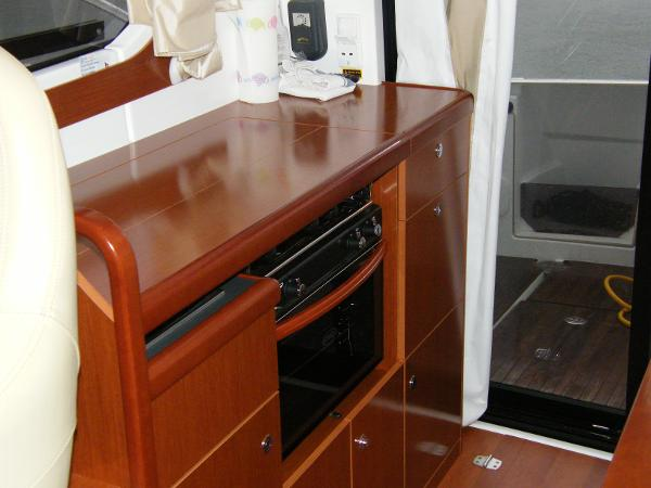 Beneteau Antares 30 Galley