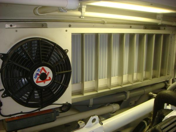 67' Lyman-Morse Delta-T engine room air filtration system