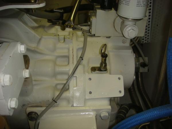 67' Lyman-Morse port gearbox