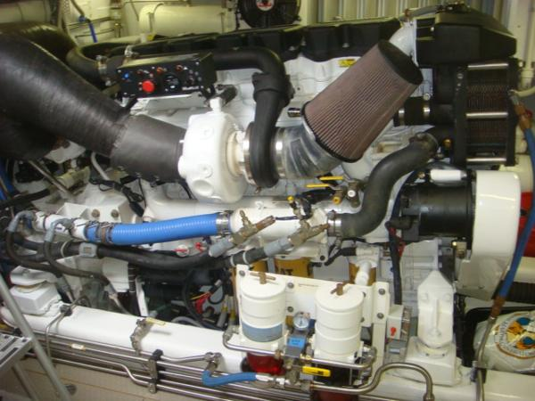 67' Lyman-Morse starboard main engine