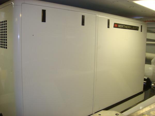 67' Lyman-Morse starbaord generator soundbox