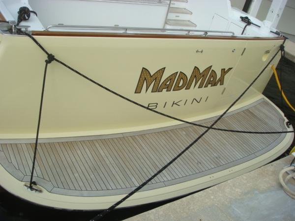 67' Lyman-Morse swimplatform