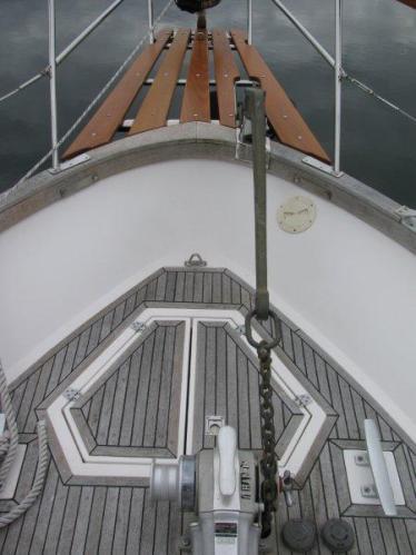 Secure forward deck