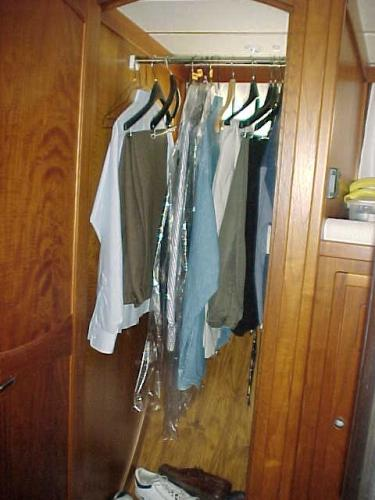 Example of just one of several large hanging lockers