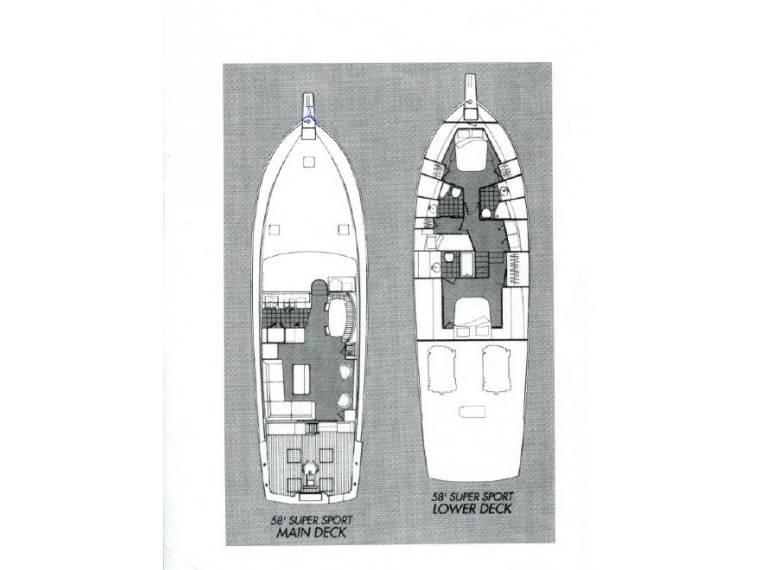 Ocean Yachts Ocean Yachts Sportfish 58 mit Eisenkiel