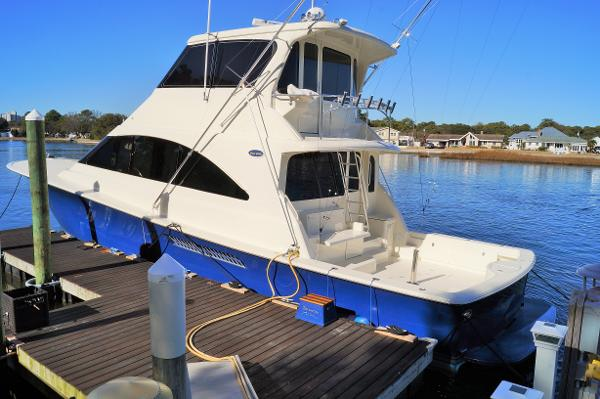 Ocean Yachts 62 Enclosed Bridge Super Sport 2002 OCEAN 62 SUPER SPORT ENCLOSED BRIDGE