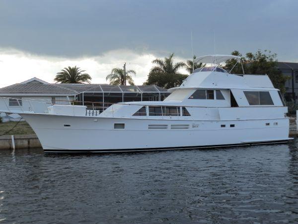 Hatteras 58 Motoryacht PORT PROFILE