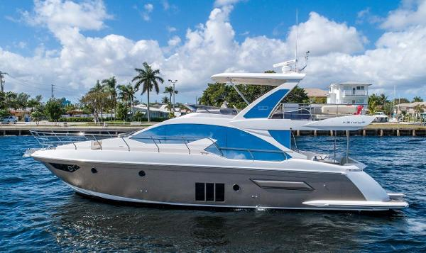 Azimut 50 Flybridge Port Profile