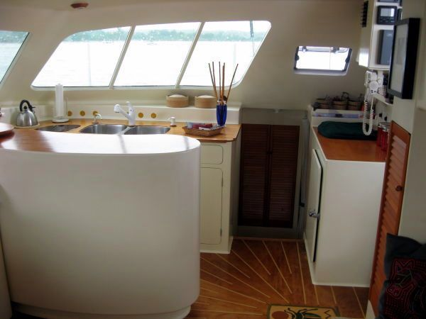 Galley Across Salon