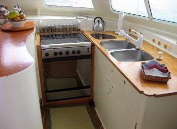 U-shaped galley