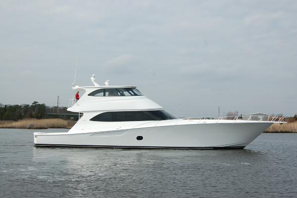 Viking 82 Enclosed Bridge PROFILE PHOTO IS SISTERSHIP