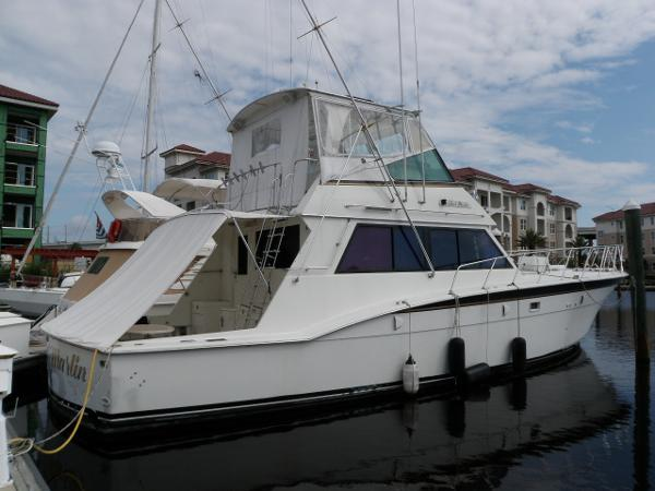 Hatteras 55 Convertible Profile