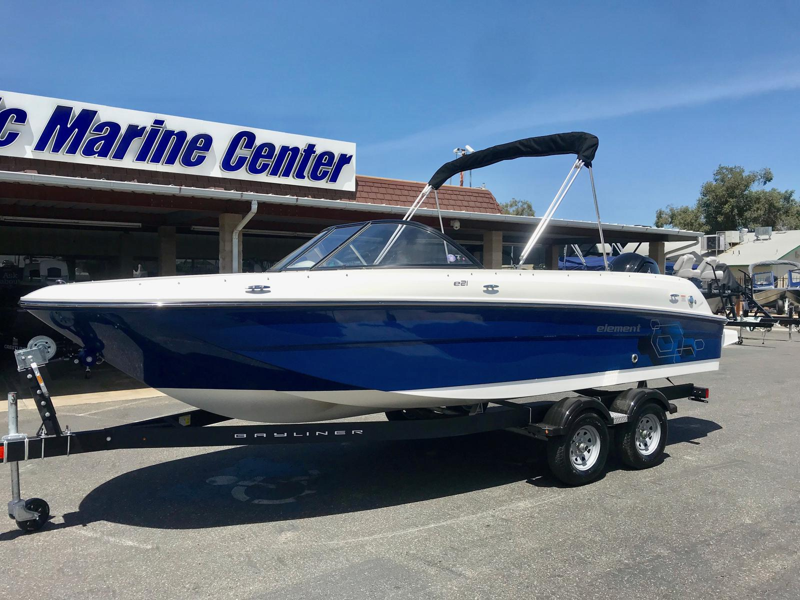 Bayliner Element E21 w/ 115HP Mercury 4 Stroke!