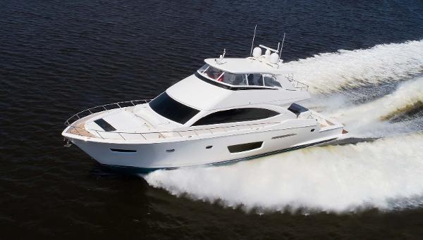 Viking 82 Motor Yacht Port Side