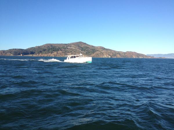 Passing Angel Island