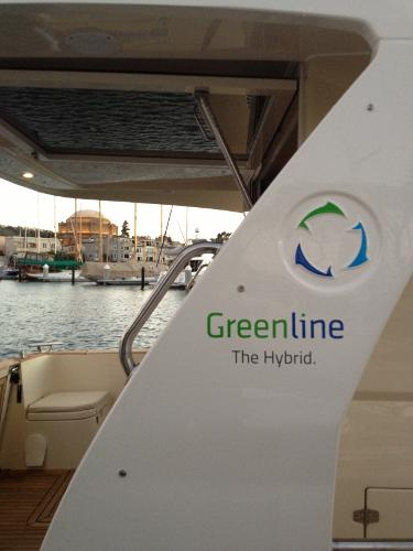 Come see the Greenline 33 at our Docks