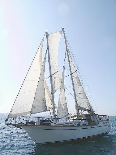 Nauticat 44'schooner