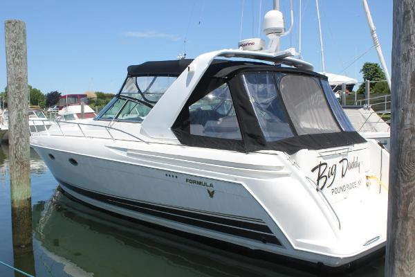 Formula 41 Performance Cruiser Port view
