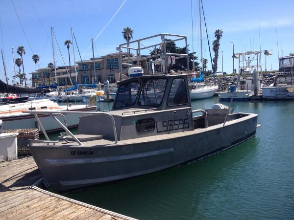 1994 Custom Fishing Vessel  26' Aluminum