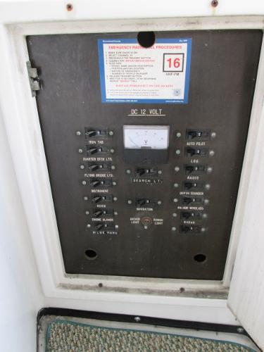 Flybridge Breaker Panel